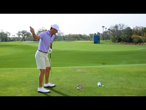 Billy Horschel demonstrates how to use a 3-iron to attack the course