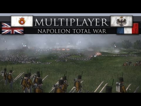 Portugal Leads the Charge! (Napoleon Total War Online Battle #211)