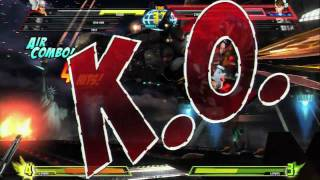 Marvel Vs. Capcom 3 - Fate of Two Worlds   Thor gameplay trailer PS3 XBox 360