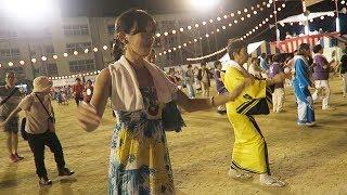 盆踊り☆第25回 堺市中区区民フェスタ@堺市深井中学校