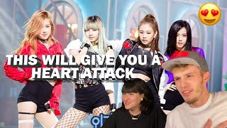 BLACKPINK - WHISTLE LIVE AT SBS INKIGAYO 2016 (COUPLE REACTION!) | THIS WILL GIVE YOU A HEART ATTACK