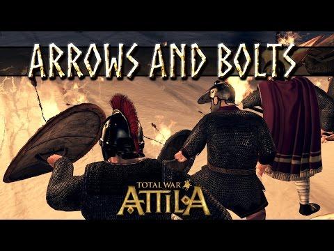 Total War Attila Patch 2 Mechanics - Heavy Shot, Flaming Shot and Standard vs Infantry