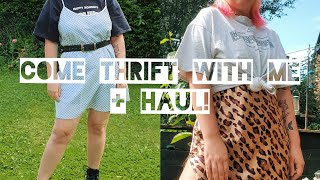 COME THRIFT WITH ME FOR SUMMER TRENDS / HOLIDAY CLOTHES (& A HAUL)