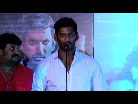 I Am Not Here For Politics Actor Vishal Explains - Paayum Puli Audio Launch - RedPix 24x7