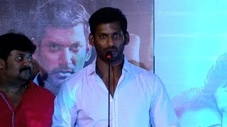 Am Not Here For Politics Actor Vishal Explains – Paayum Puli Audio Launch Function youtube video 02-08-2015