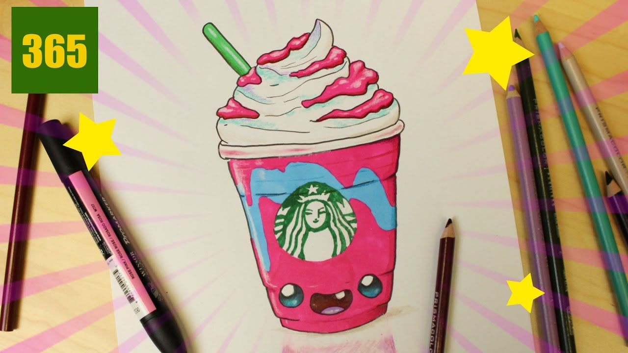 Comment Dessiner Unicorn Frappe Kawaii Unicorn Frappuccino Kawaii