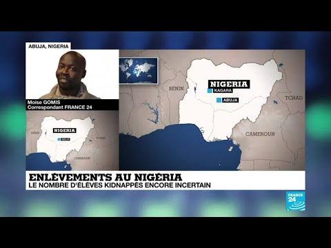 """Nigeria : """"des centaines"""" d'élèves enlevés par des hommes armés"""