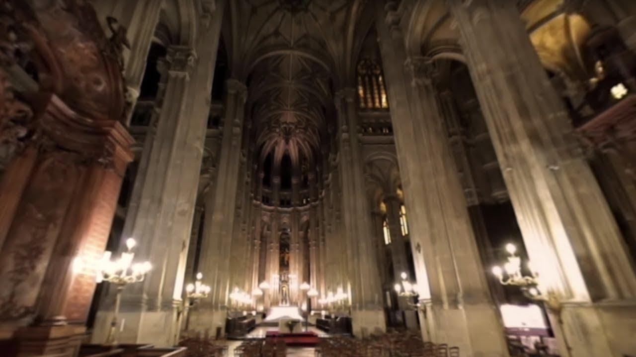 Paris l envers du décor eglise st eustache vidéo