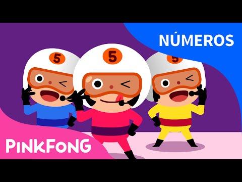 Cuenta de 5 en 5 | Números | PINKFONG Canciones Infantiles