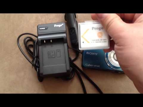 Unboxing NP-BN1 Replacement Rechargable Battery, Rapid Charger For Sony Cybershot @ Amazon. Progo