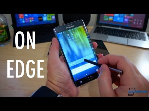 Edge Lesson: Making the Most of the Galaxy Note Edge Screen