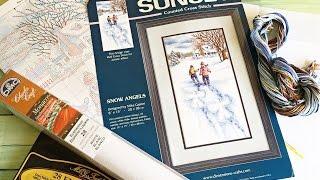 SUNSET Snow Angels 13717 Неравномерная равномерка обзор набора