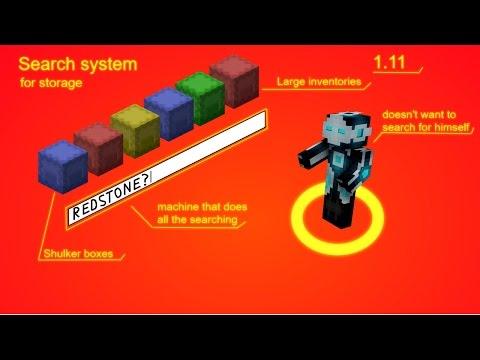 Minecraft Storage search machine