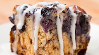 Blueberry Cinnamon Roll Bake