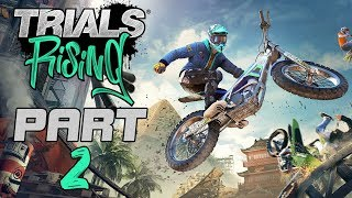 """Trials Rising (FULL GAME) - Let's Play - Part 2 - """"Euro Starter Cup"""" 