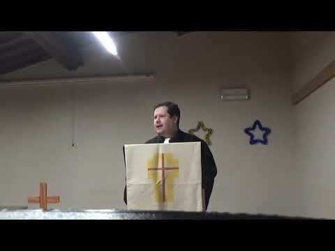 Sermone Su Matteo 3,13-17 - Rev. A. Panerini - 12 Gennaio 2020 - CPU Firenze