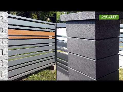 Drewbet Ogrodzenia Lupane Gladkie Betonowe Drewniane Metalowe