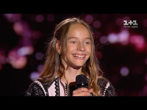 Natalia Berest Luli Luli Luli Naletilu Guli Blind Audition Voice Kids Season 3 Youtube