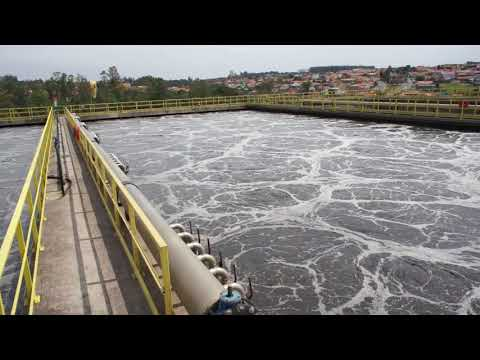 Aeration Tanks In Wastewater Treatment Plant