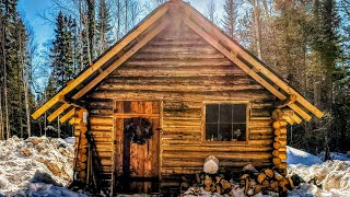 The Most Simple Off Grid Power Setup: Off Grid Log Cabin
