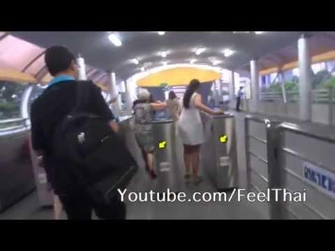รีวิวรถเมล์บีอาร์ที Bangkok BRT bus system | feelthai
