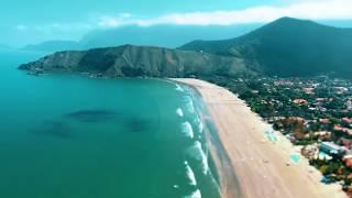 Travel São Sebastião   Praia Barequeçaba   Drone Trip