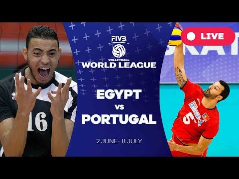 Egypt v Portugal - Group 2: 2017 FIVB Volleyball World League