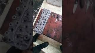 Як  витягнути мідну шайбу з гнізда форсунки форд сієрра 2.3 д