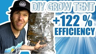 Cheap DIY $2 Grow Tent!