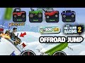 HILL CLIMB RACING 2 NEW OFFROAD JUMP EVENT 🔥💖🔥
