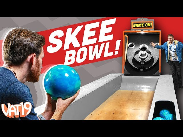 We Built a GIANT SKEE-BALL Machine!