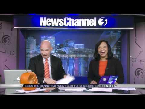 G BiZ - Flagrant News Anchor Assumes Black Co-Host Has A Weave!