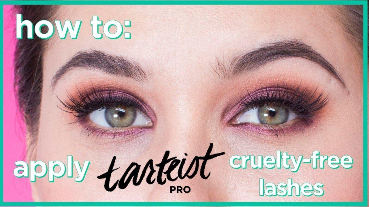 e46671a0770 how to apply new tarteist PRO cruelty-free lashes. tarte cosmetics