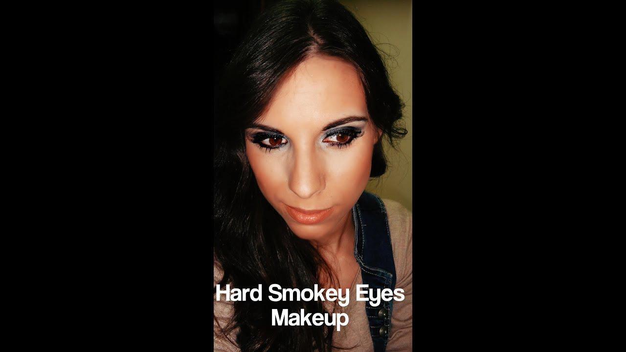 Youtube Makeup Tutorials Popular: Hard Smokey Eyes Makeup