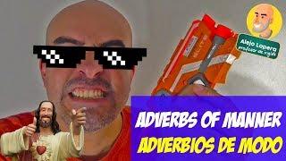 Adverbios de Modo en INGLÉS / Adverbs of Manner
