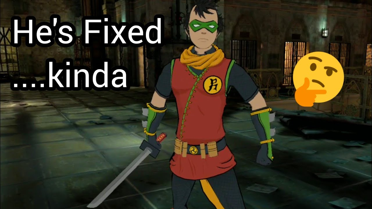 Batman Ninja Robin Is Fixed Kinda Injustice 2 Mobile Youtube