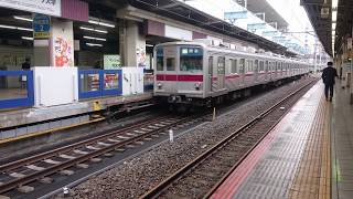 東武9000系東上線池袋駅発車シーン2019年5月(9101F)【4K】