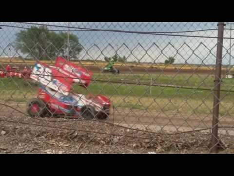 Sprint Car Practice 2 at US 30 Speedway