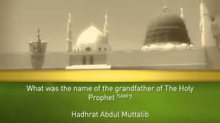 Holy Prophet (SAW)   Quiz  6