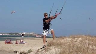 Dangerous kite boarding beach starts- Vlad Postelnicu