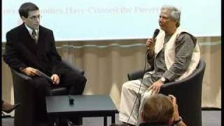 Dr. Muhammad Yunus, conference at HEC Paris