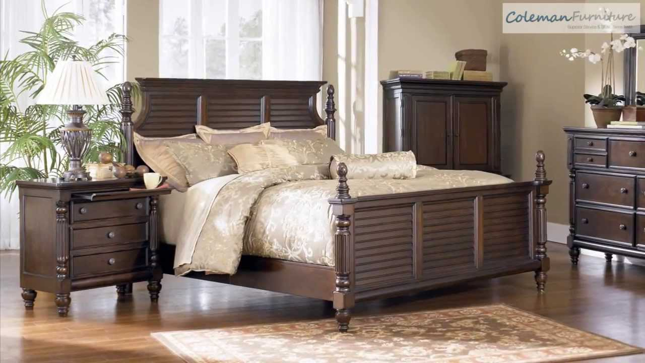 key town bedroom furniture from millennium by ashley - youtube