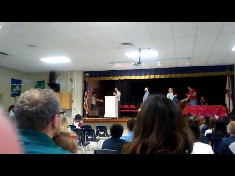 Keegann's 5th Grade Graduation Mittye P Locke 05/26/2017
