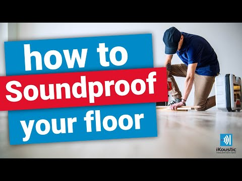 How to Soundproof a Floor - MuteMat® Installation Video