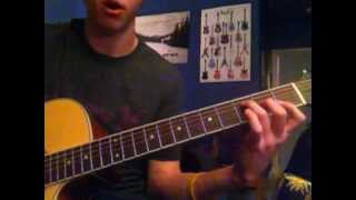 "How to play ""Send me on my Way"" by Rusted Root on Guitar"