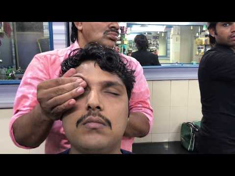 ASMR Indian Barber Relaxing Head Massage with Neck Cracking By (Khursheed Aalam) Episode #03