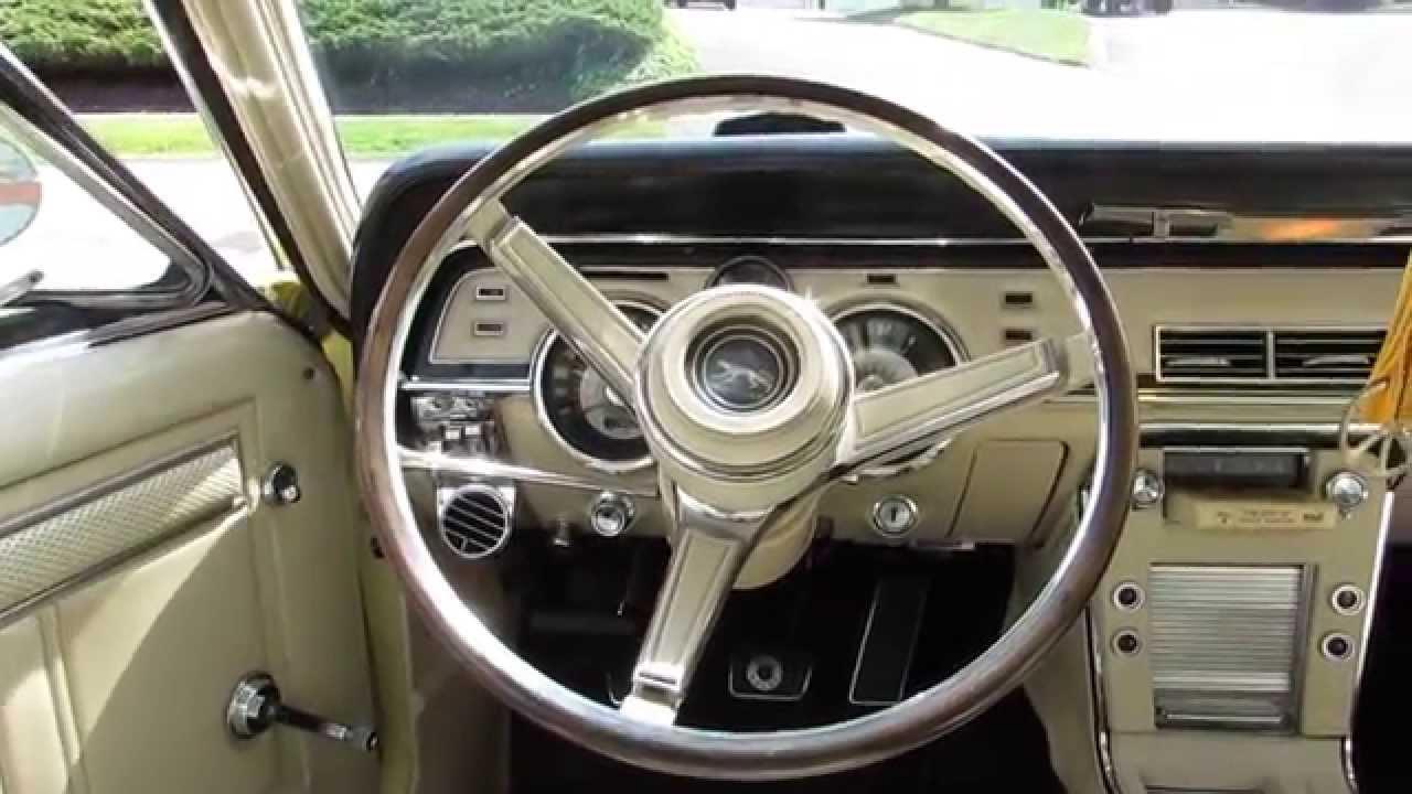 U0026 39 67 Mercury Cougar Tilt-away Steering Wheel