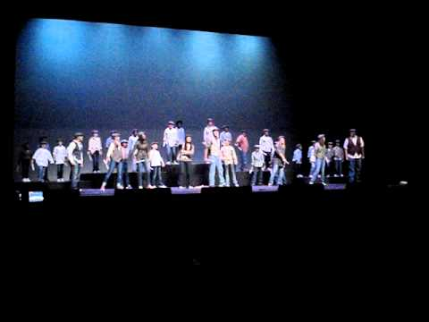 "NEWSIES ""Seize the day""-Bryan Elmore & Phillips Community College of the University of Arkansas"