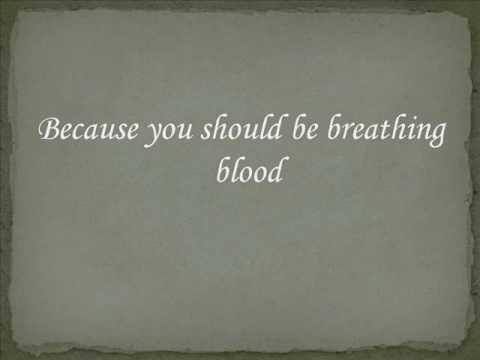 Oh Sleeper - Breathing Blood Lyrics