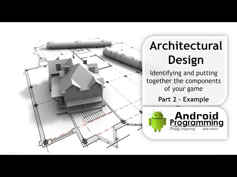 Android Game Development - Week 3 – Architectural Design – Example